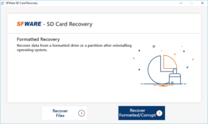 SFWare Recover photos from Corrupt SD Card
