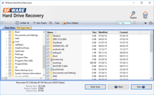recovered files