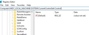 fix SSD read only mode using regedit