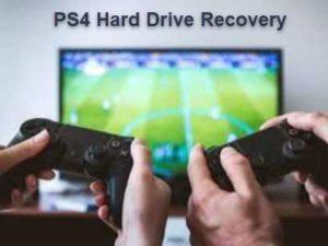 PS4 hard drive recovery