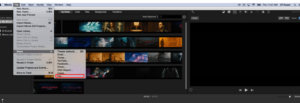 select share option to convert MOV to MP4