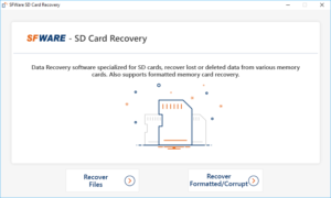 Recover files from SD card showing full but no files in it