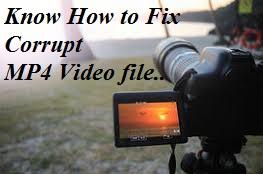Repair MP4 video file