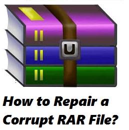 Repair corrupt RAR file