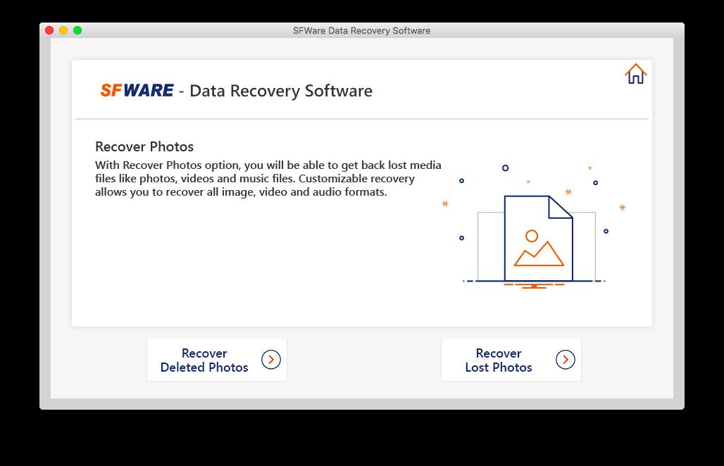 SFWare Digital Media Recovery Mac 1.0.0 full