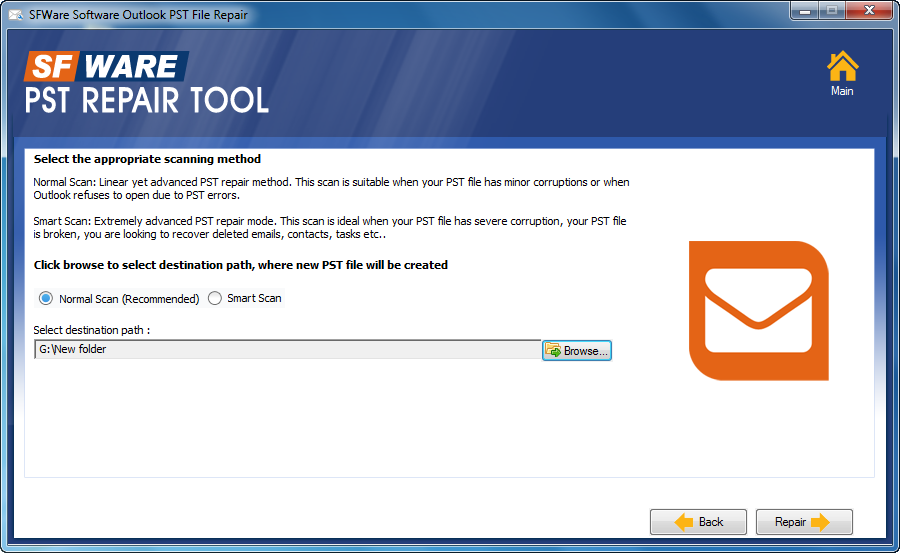 free pst repair tool outlook 2007