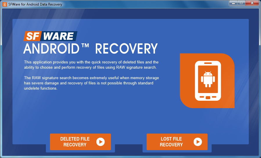Rapid data recovery from Android Smartphone