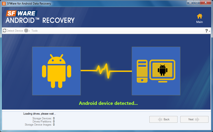 Android Data Recovery – Recover Deleted or Missing Files