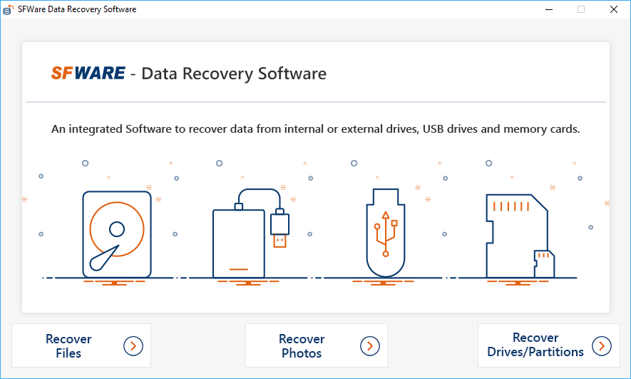 Video/ Photo Recovery Software