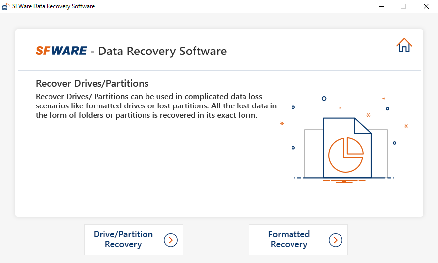 Select Drive/Partition Recovery