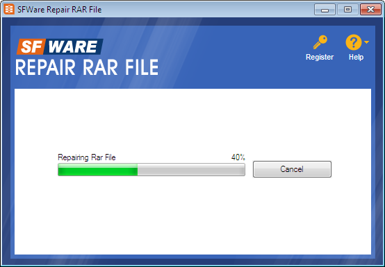 software to repair winrar file