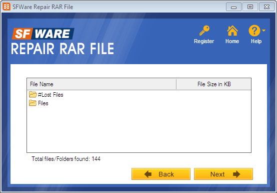 how to repair rar damaged file