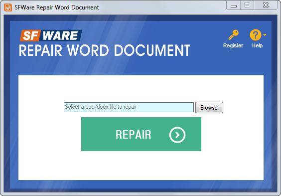 Download Free Repair My Word, Repair My Word 1.1 Download